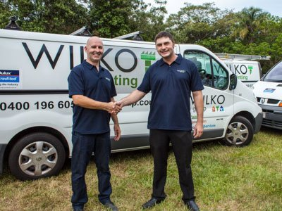 Paul Wilkinson welcome Andrew Wilson - new commercial Projects Manager