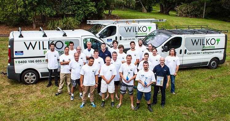 Painting Quote - Our Team - Wilko Painting