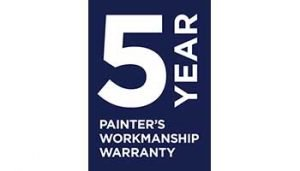 5 questions to ask when hiring a painter - 5 year workmanship warranty